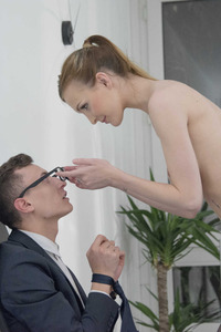Office Sex Scene With Belle Claire