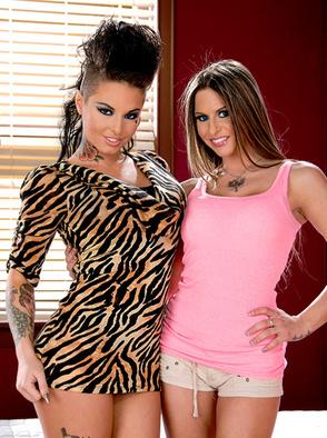 Rachel RoXXX And Christy Mack