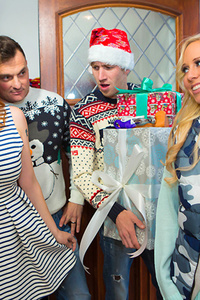 Tarra White Gets Drilled For The Holidays