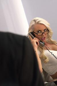 Busty Secretary Gigi Allens Jizzed
