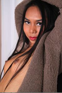 Exotic Teen Novi Posing Naked