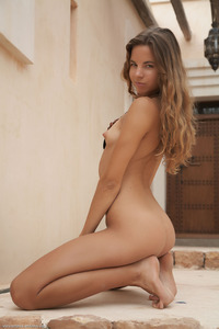 Antea Stripping Down Completely Nude