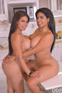 Busty Sisters Kesha Ortega And Sheila Ortega Knows What To Do