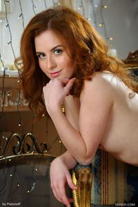 ADEL P Sexy Redhead Teen