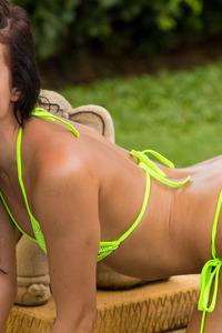 Sapphira Strips Off Her Bikini