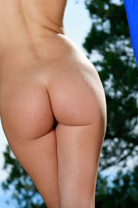 Beauty Florina Getting Naked Outdoors