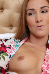 Alexis Crystal Takes Cock In Her Mouth And Pussy