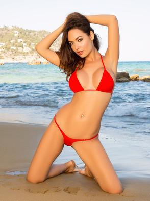 Adrienn Levai Hitting The Nude Beach