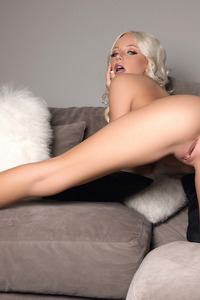Hot Blonde Babe Ria Rose Takes Off Her Little Dress