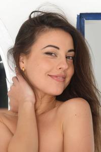 Brunette Lorena B Shows Petite Tight Latina Body