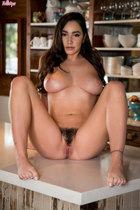 Busty Babe Karlee Grey Fingering Her Pussy