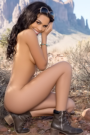 Briana Ashley In Desert Lover