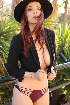 Elizabeth Marxs Redhead Beauty