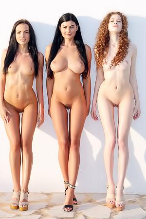 Vanessa, Lucy Li, Sapphira - The Trio