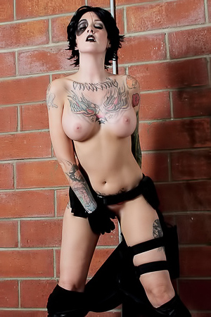 Melodie Gore Cosplaying Domino Effect
