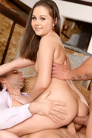 Russian Liza Shay Gets Fucked In Her Ass And Cum On Face