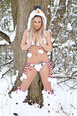 Nikki Sims The Snow Bunny