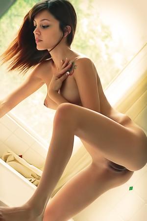 Ashley Doll In The Bathroom