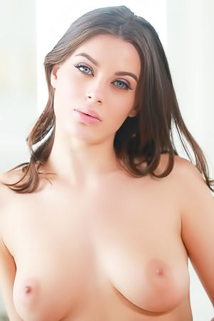Hot And Busty Brunette Lana Rhoades Strips Down