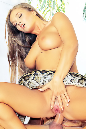 Busty Rita Faltoyano And The Snake