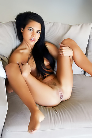 Delicious Young Brunette Senley