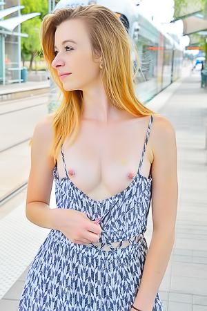 Stationside Upskirt