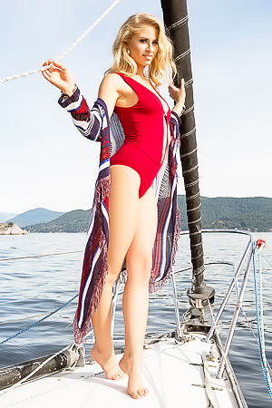 Playboy Supermodels On Boats