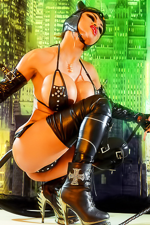 Goddess Armie Field Busty Catwoman