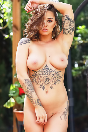 Fully Naked Babe Mica Martinez