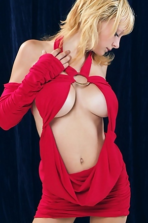Busty Marina Visconti Gets Out Of Her Clothes Outs