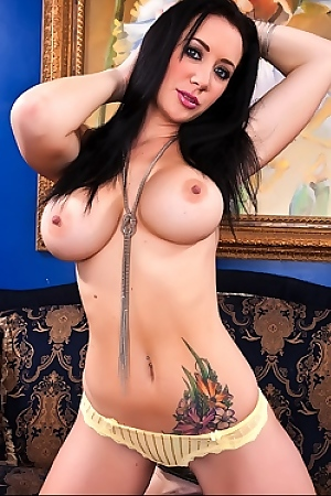 Jayden Jaymes Yellow Bra And Panties