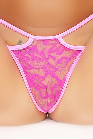 Melena Tara Stripping String Bikini