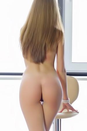 Delicate Blonde Tini Masturbates