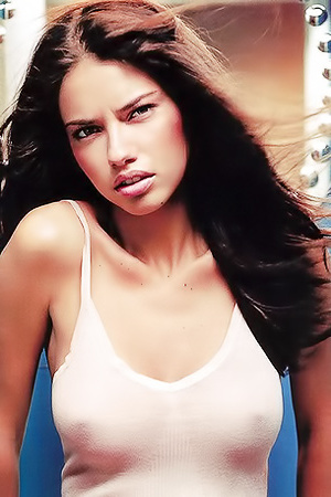 Photomodel Adriana Lima Topless