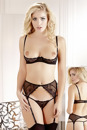 Nicole Neal In Sexy Lingerie Collection