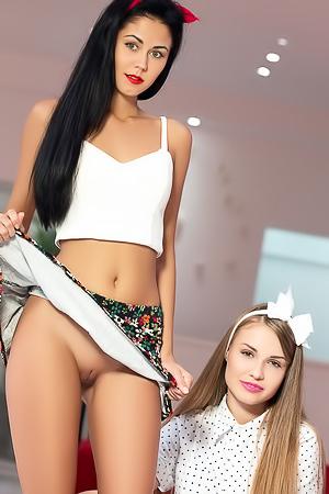 Angel B And Pamela Double Fun