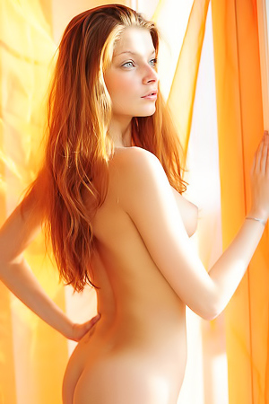 Sweet Redhead Girl Indiana