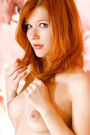 Freckled Redhead Sweetie Mia Sollis