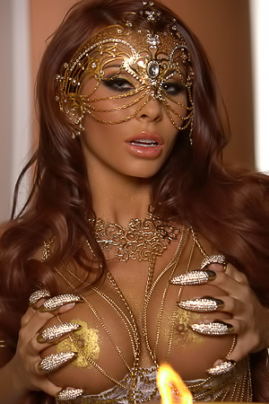 Madison Ivy Snake-charmer Goddess