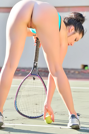 Carrie Buttalicious Tennis