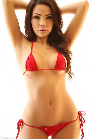 Karla Skimpy Bikini porn pic gallery