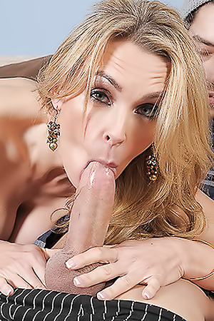 Tanya Tate Busty Blonde Slutty Babe Loves Cock